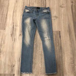 Rampage women's jeans size 5 EUC skinny